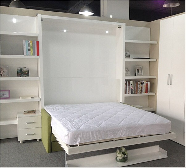 Space Saving Hidden Wall Bed Folding Wall Bed Modern Space