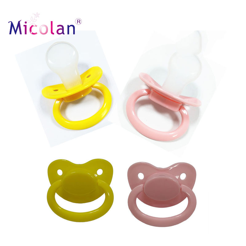 Custom Big Size Silicone Adbl Nipple Soother Adult Pacifier Nipple