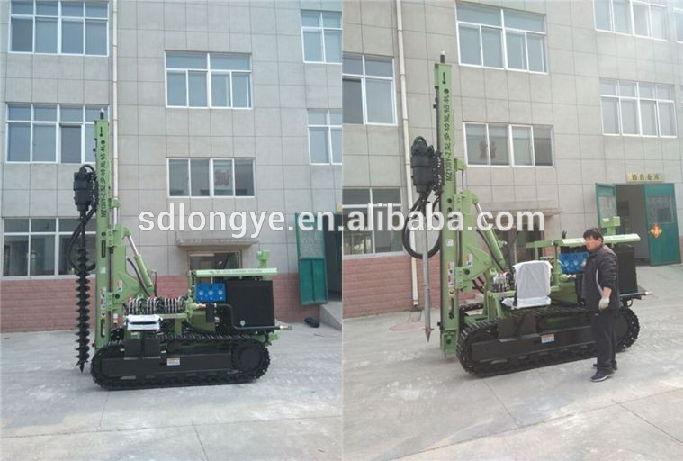 MZ130Y-2 photovoltaic spiral pile drilling machine