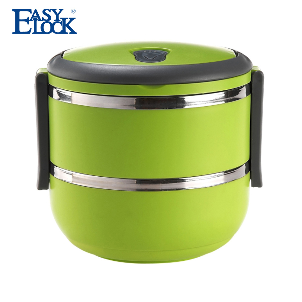 Insulated Plastic and Stainless Steel Food Storage Container
