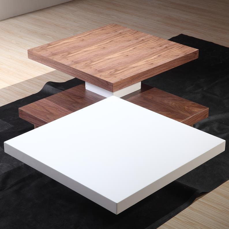 2016 Modern Square Shape Wood Mdf High Gloss Coffee Table For House Use