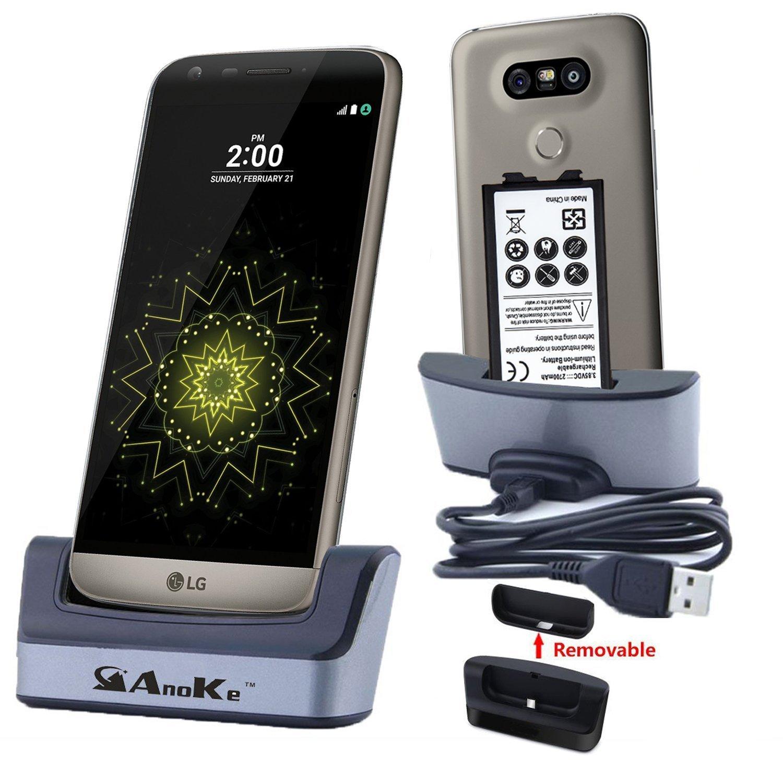 Get Quotations · LG G5 Charger, LG G5 Battery Charging Station, AnoKe USB  3.0 Desktop Charging Docking