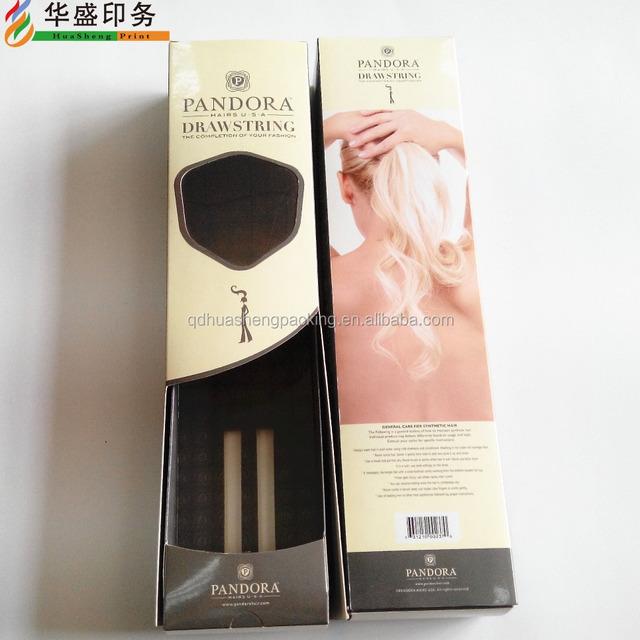 Rigid Color Hair Extension Boxes Source Quality Rigid Color Hair