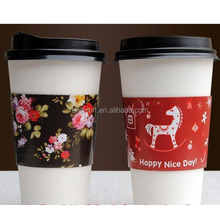 Cheapest Christmas 7oz paper cup for hot coffee