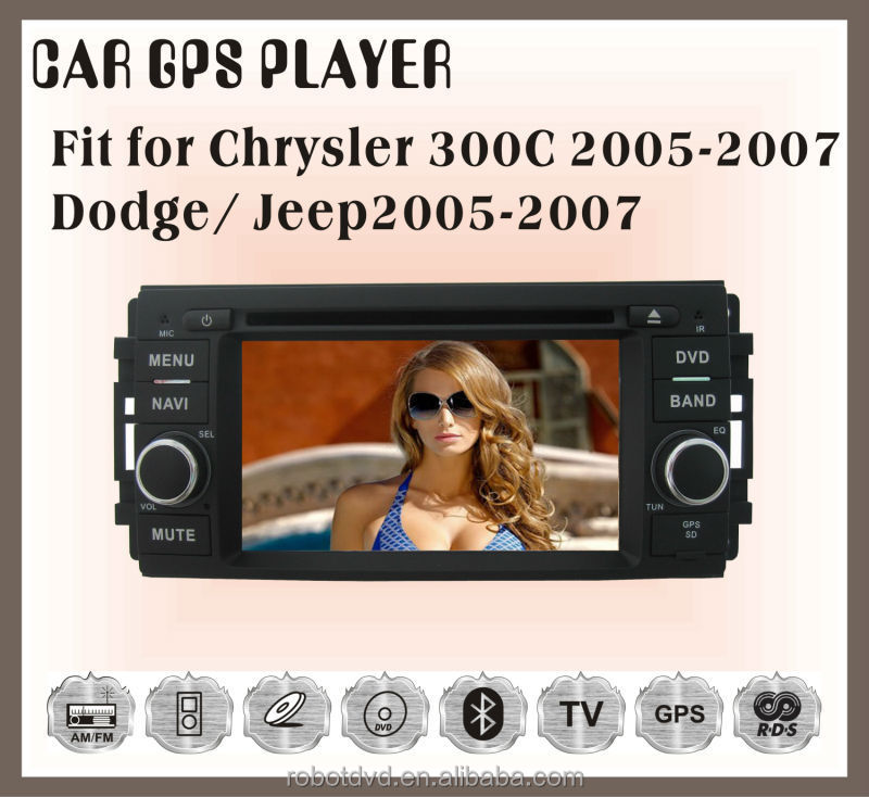 Fit for JEEP chrysler 300C dodge 2005-2007 car multimedia player with gps