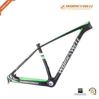 2016 Xc Hardtail Frame Mtb Carbon 29er Mountain Carbon Bike Frame In ...