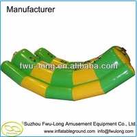 High quality giant inflatable water park Banana boat,float tube/ inflatable buoy for sale