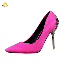 Custom Lady Patent Leather Luxury Brand Korean Shoes Wholesale Women's High Heel Mature Pumps Zapatos Footwear Stiletto Heels