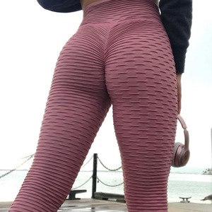 Wholesale High Waist Fitness Leggings Fashion Butt Lift Black Spandex Pants Workout Leggings Plus Size