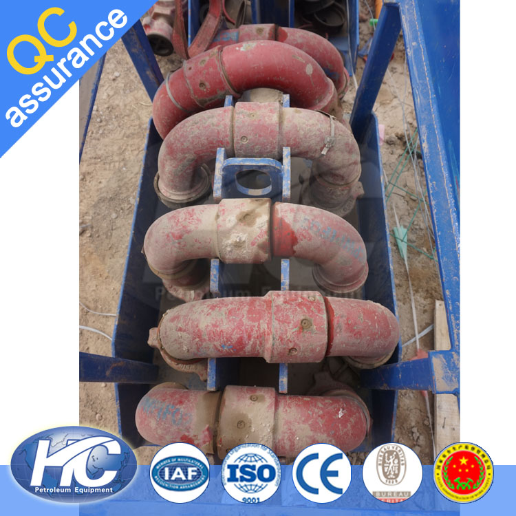 High-pressure pipe fittings carbon steel 90 degree elbow/ swivel joint for oil/ gas filed