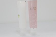 OEM/ODM High quality cosmetic cream tube packaging and aluminum plastic brush tube with brush top skin care