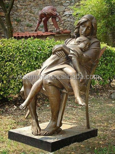 Modern Bronze Mother And Child Statues Buy Mother And