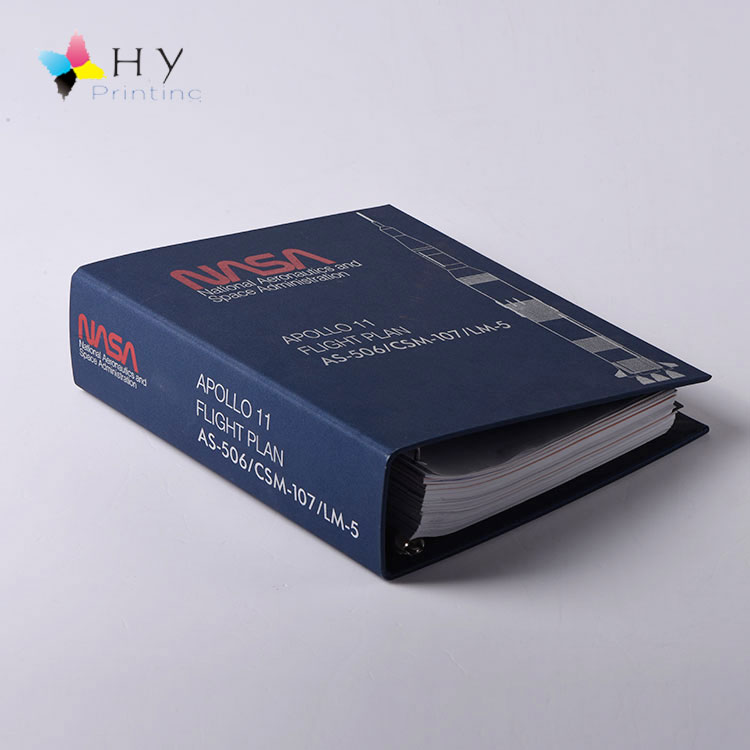 Heavy duty view Fabric cloth 4 ring binder A4 with 2 inch