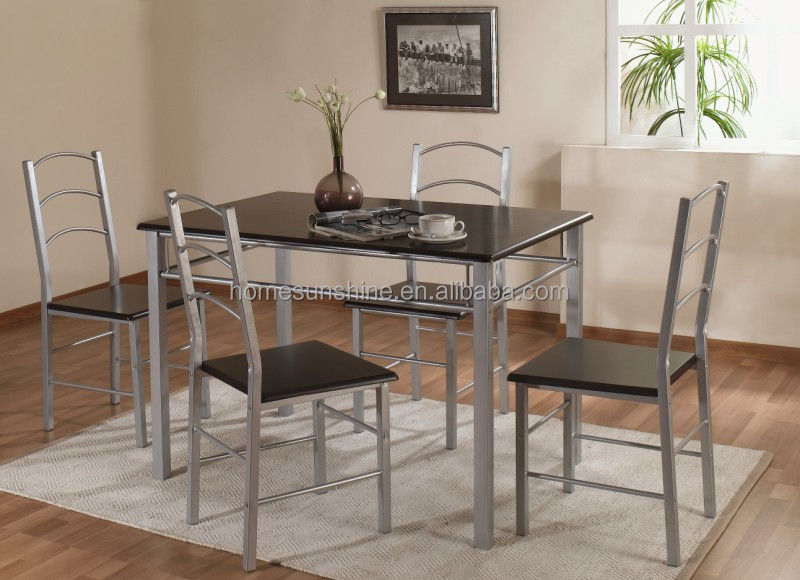Small kitchen dining sets 3 bar height kithen table set for Unique kitchen dining sets