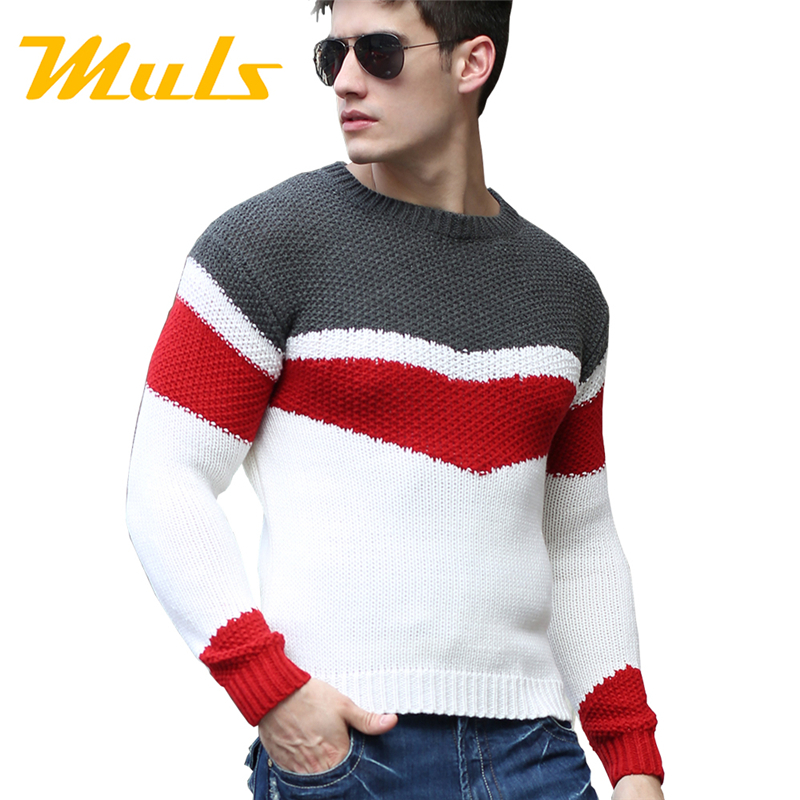 Buy Fashion pullover brand polo men sweater hombre clothing wool ...
