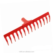 Low Price Good Performance Garden Leaf Plastic Rake Without Handle Only Rake Head