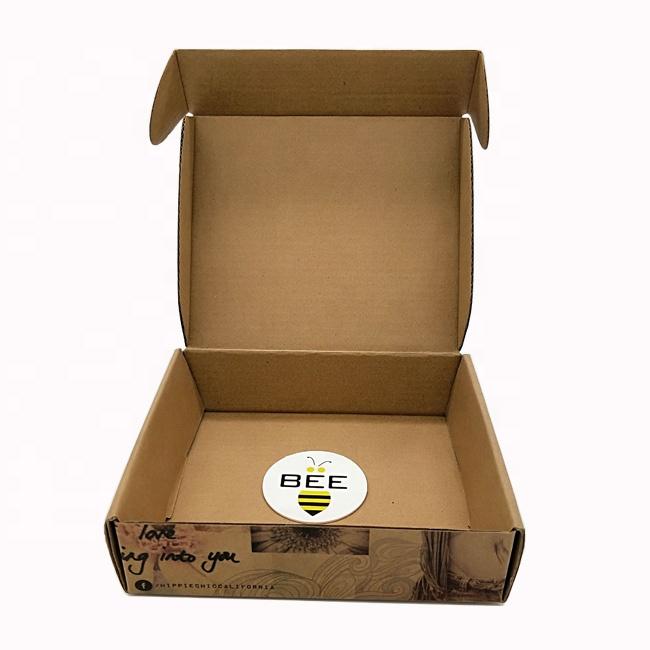 Разлагаемая картонная коробка для пиццы