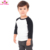 Spring / fall / winter clothes wholesale feather printed long sleeve kids raglan sleeve t shirt cotton toddler raglan shirts