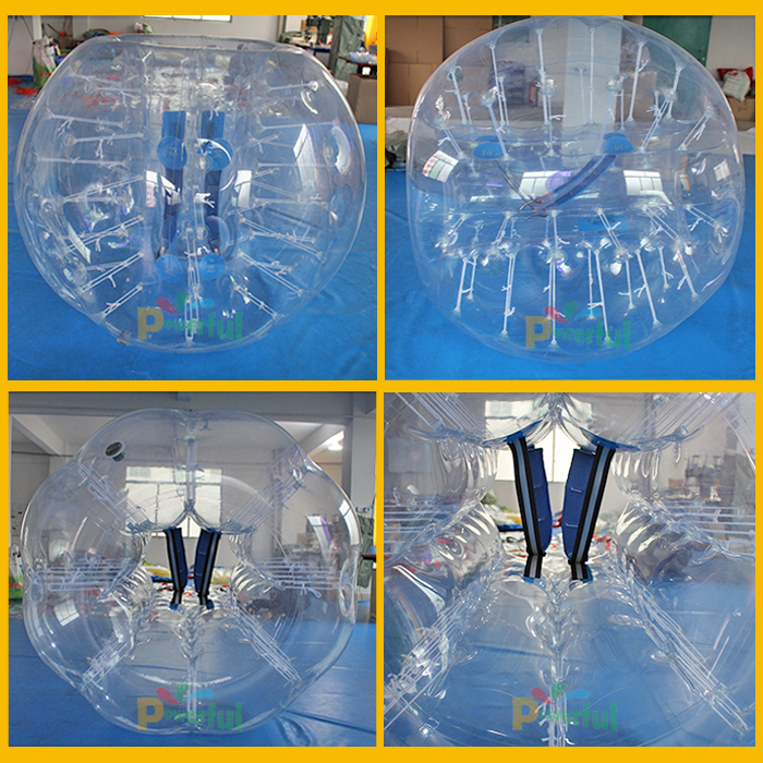 wholesale price inflatable soccer bubble bumper ball,belly bumper ball 1.5m Human Knocker Bubble Soccer Balls