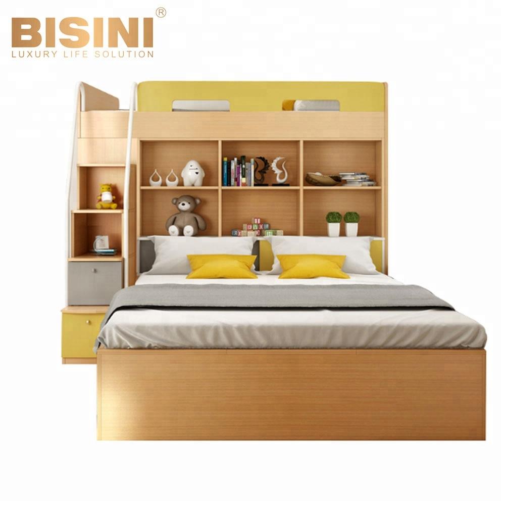 Bisini Multifunctional Children\'s Combined Bed,Kids Wooden Bunk  Bed,Children Bedroom Set (bf07-70034) - Buy Children\'s Combined Bed,Kids  Bunk ...
