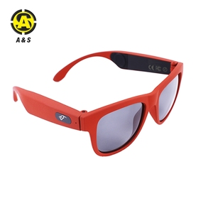 2018 New Design Wireless Bluetooth Earphone Bone Conduction Sunglasses for outdoor