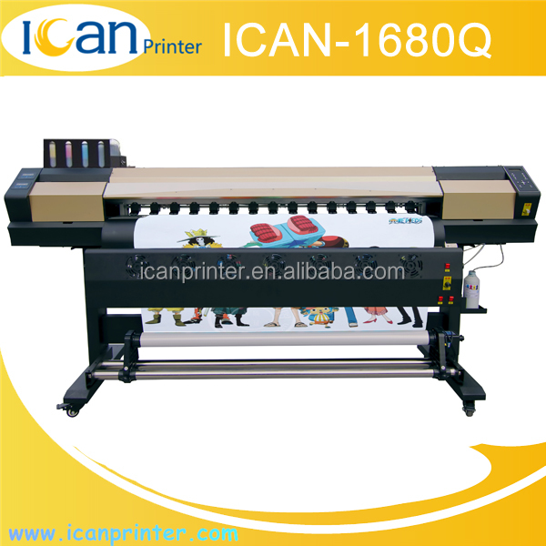 ICAN-1680Q 1.7m Automatic Digital Canvas Printer Label Pictorial Printing Machine