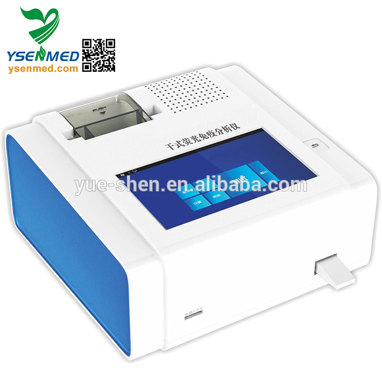 YSTE-FIA01  Mini  hot sale dry-type FIA Fluorescence chemiluminescence immunoassay analyzer price