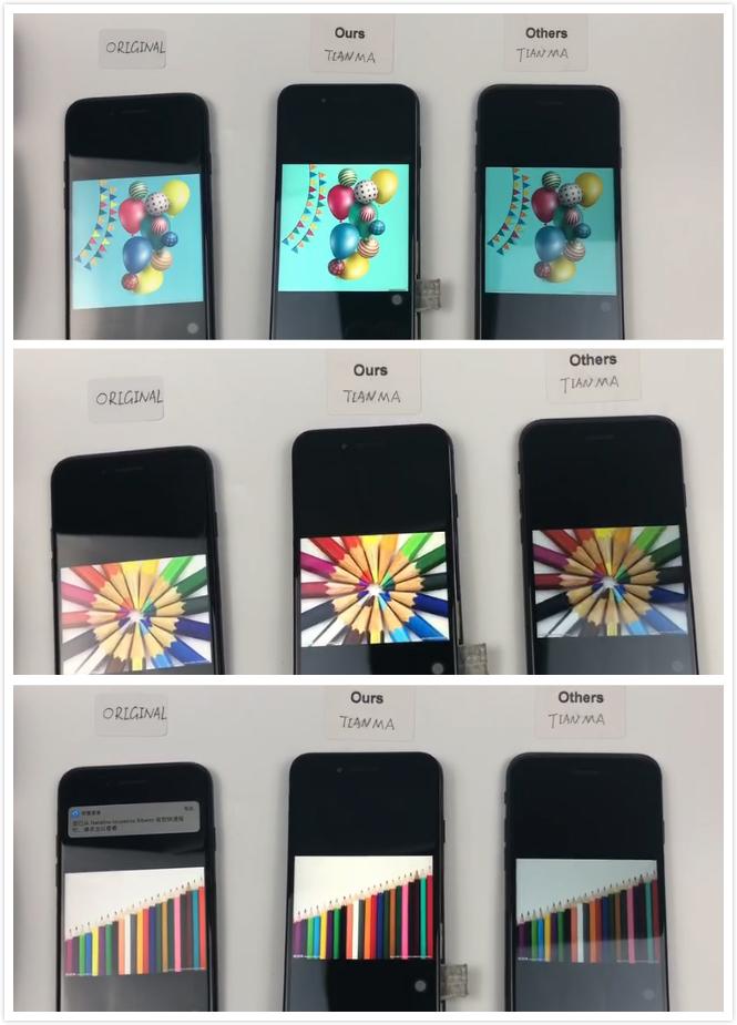 Pabrik Pasokan Stabil Kualitas Asli Layar untuk iPhone 7 Plus LCD untuk Iphone7 LCD untuk iPhone 7 Display