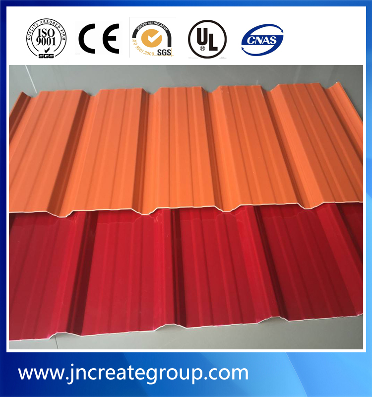 warehouse using curved corrugated roof panel
