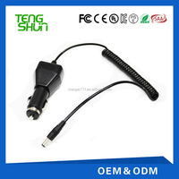 in car charger 4.2v 1.2a 8.4v 1.2a 12v 1.5a adapter