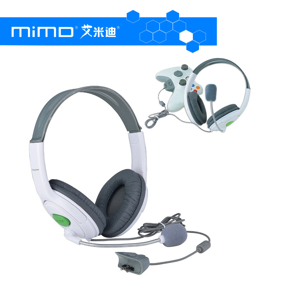 Hot sell factory supply Live Big Headset for XBOX for 360 slim