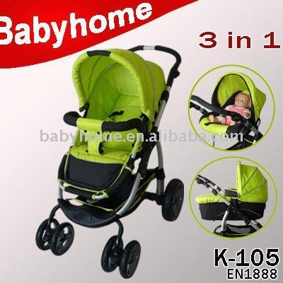 Baby Stroller Baby Pram 3 In 1 - Buy Baby Stroller Baby Prams 3 In ...