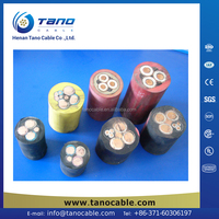 Harmonized cable supplier rubber coated flexible wire H03RT-H Nigeria New Zealand Malaysia