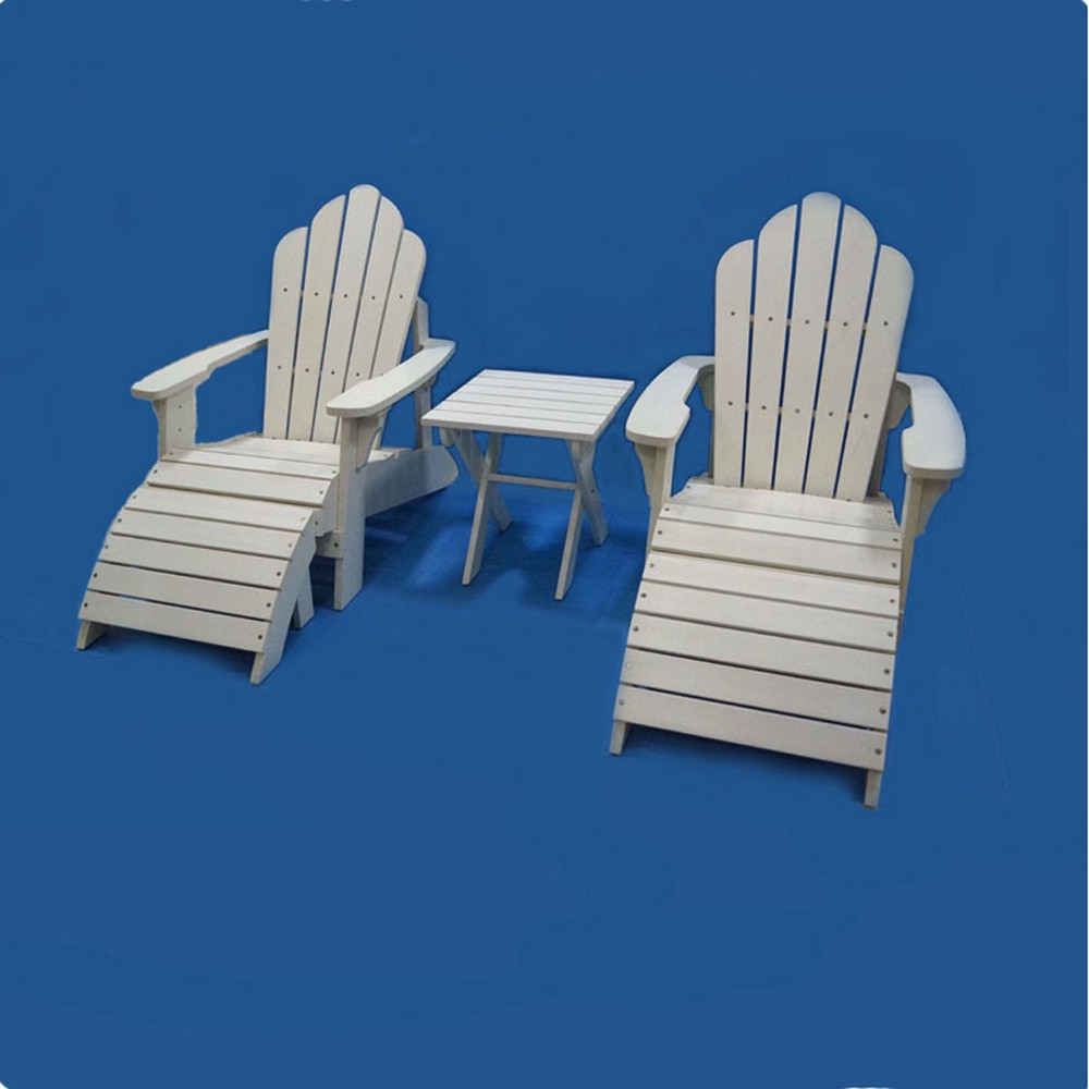 Waterproof wood plastic composite adirondack chair white Composite adirondack chairs