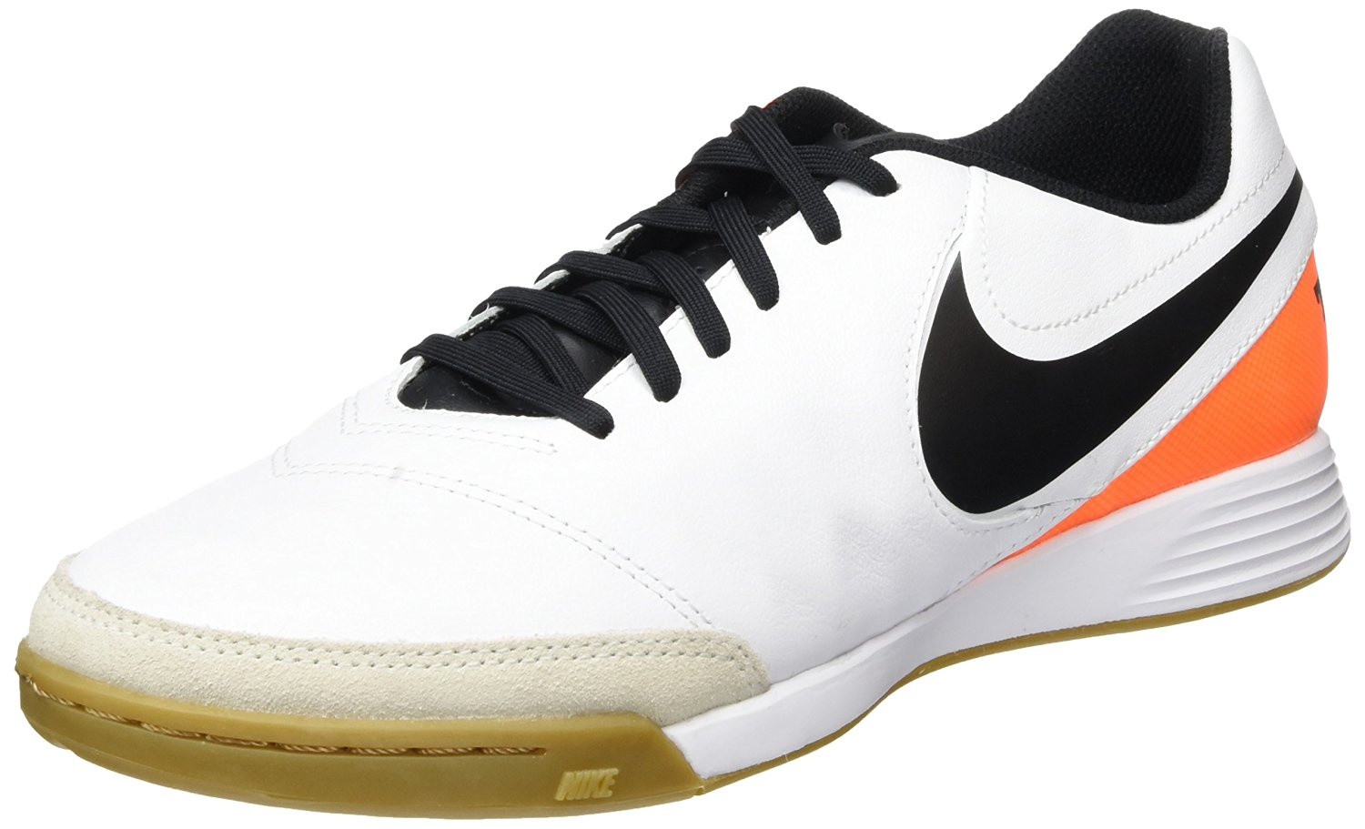 c76f6adc8f2 Get Quotations · Nike Tiempo Genio II Leather IC Indoor Soccer Shoes