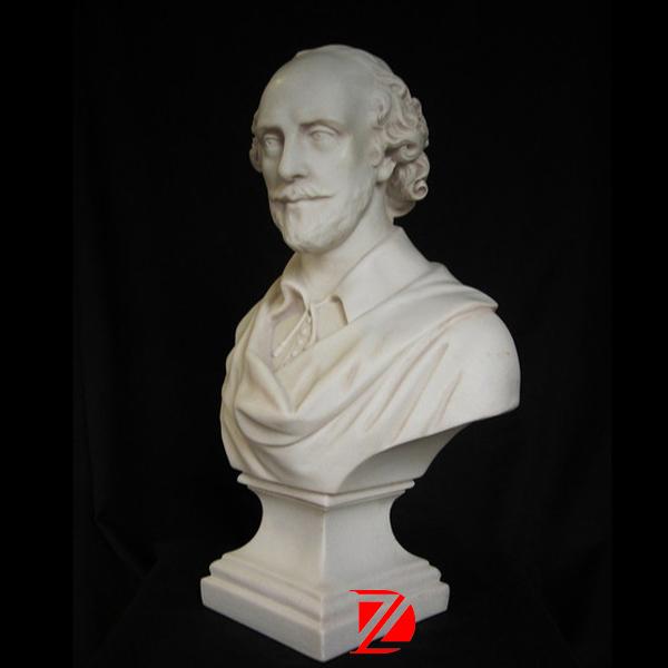 SCULTURA busto marmo William Shakespeare