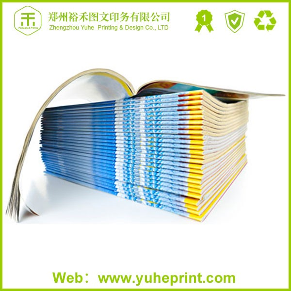 Hot Selling cheap price customized style full color print glossy film lamination adult magazine
