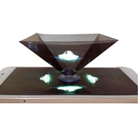High Quality Pyramid Mirror Reflective for children Holographic Projector 3D projection