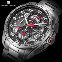 Original 파가니 DESIGN Top Luxury Brand <span class=keywords><strong>스포츠</strong></span> Chronograph Men's Watches 방수 (times square) 석영은 Clock Masculino saat