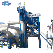 120t/h two roller tar asphalt mixing plant for sale