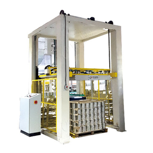 Stable Performance Filled Glass Bottles Palletizer Machine for Ketchup