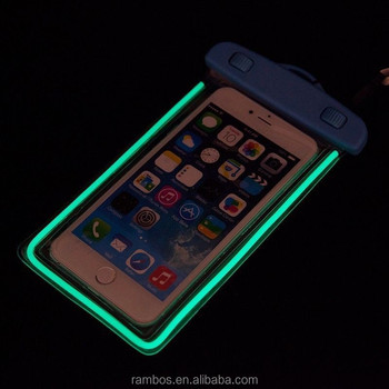 promo code 5627e de70d Glow In Dark Waterproof Phone Pouch Luminous Swimming Dry Bag Case For  Samsung S6 Edge J1 A5 A7 - Buy Waterproof Phone Pouch Case,Glow In Dark ...