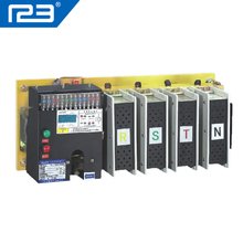 125amp 220 v/230 v/380 v/440 v 2 pole 3 pole 4 pole 3 phase automatic transfer switch ats