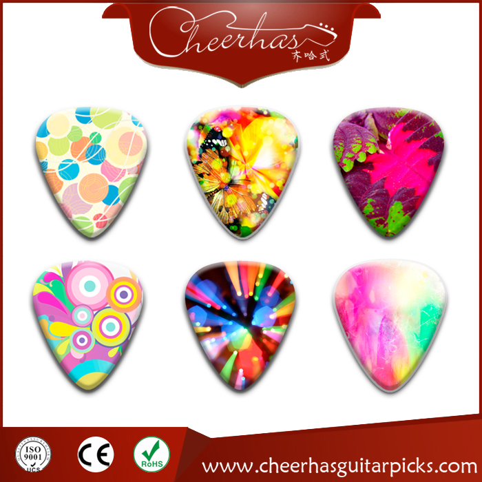Plectrums Cheapest Custom Guitar picks electric hot picks 1 side printing