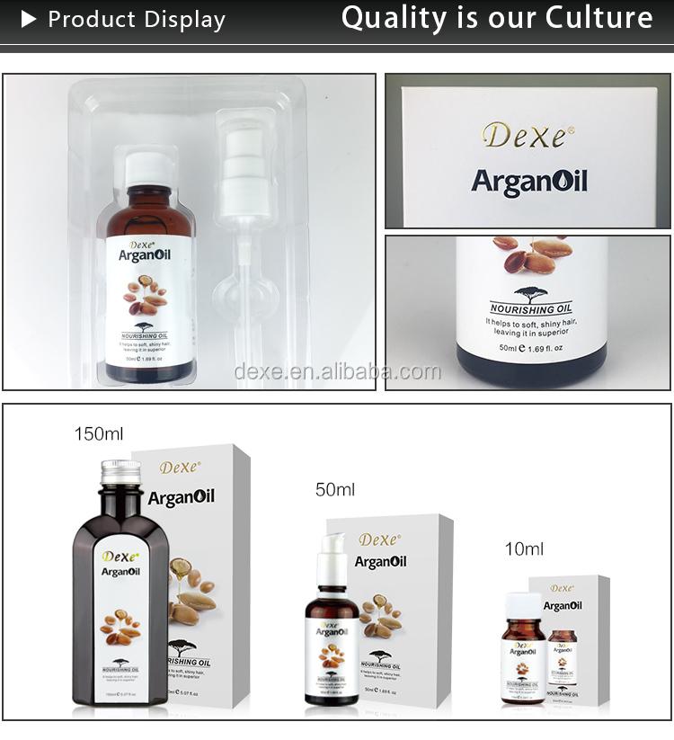 Dexe Proteine di argan siero trattamento olio per capelli fragili
