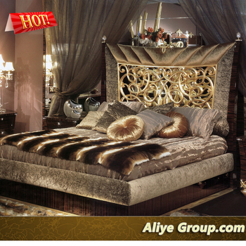 High Quality Royal Fancy Bedroom Furniture Set BY21301