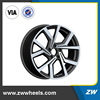 ZW-P5125 2016 new replica alloy wheel rims, 5x100 wheels rims, 5x112 alloy car rim