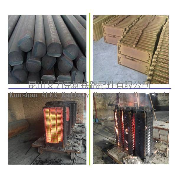 Customized Casting Steel Railroad Tie Plate Used Railroad Track - Buy  Casting Steel Railroad Tie Plate,Customized Casting Steel Railroad Tie
