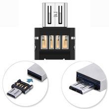 Del OTG Cable Mini USB 2 0 Micro USB OTG Converter Adapter Cellphone TO US Mar01