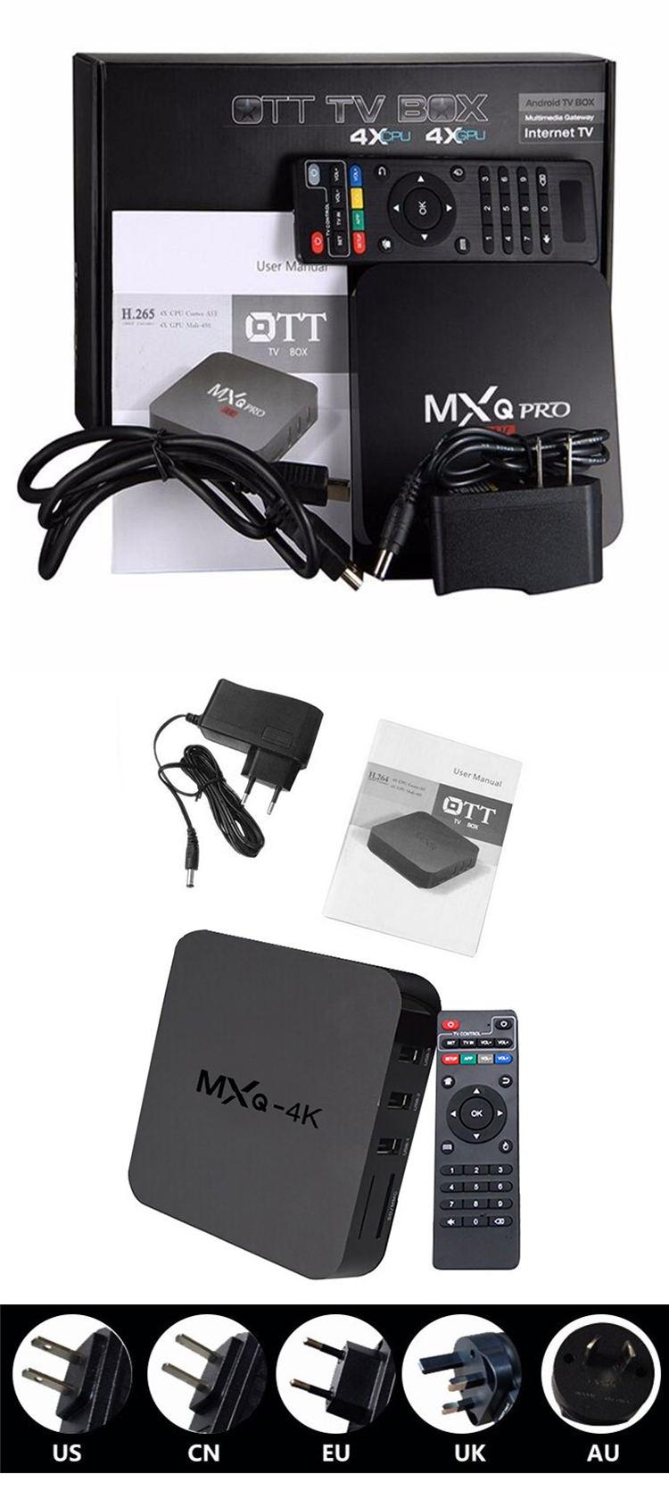 Hottest Tv Box Mxq Pro Allwinner Rockchip Amlogic S905w 4k Android Tv Box  Accept Customized Logo,Ui - Buy Amlogic S905x,Mxg Rk3229,Allwinner Android